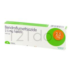 Bendroflumethiazide 5mg x 168