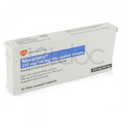 Malarone 100mg/250mg x 24